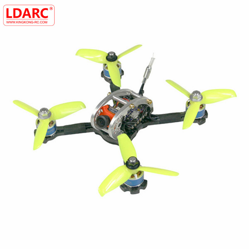 KINGKONG/LDARC FPV EGG PRO 138mm RC FPV Racing Drone PNP W/ F4 OSD 4 in 1 20A ESC 25mW/100mW 16CH VTX CCD600 600 TVL NTSC CAM original emax f4 magnum all in one fpv stack tower system f4 osd 4 in 1 blheli s 30a esc vtx frsky xm rx