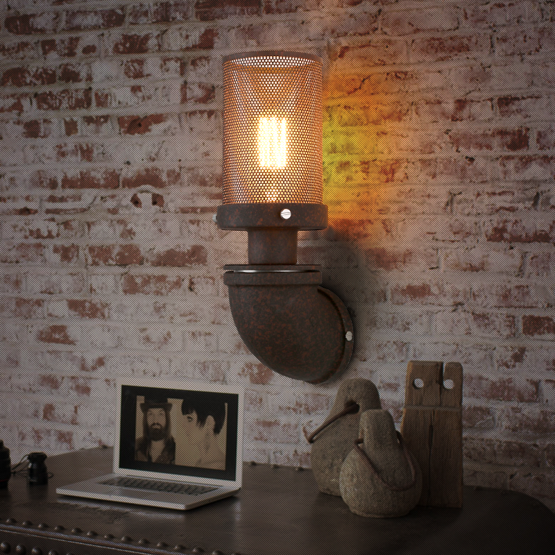 Nordic Loft Style Water Pipe Lamp Edison Wall Sconce Antique Vintage Wall Light Fixtures For Home Industrial Lighting Lamparas nordic loft style industrial water pipe lamp vintage wall light for home antique bedside edison wall sconce indoor lighting