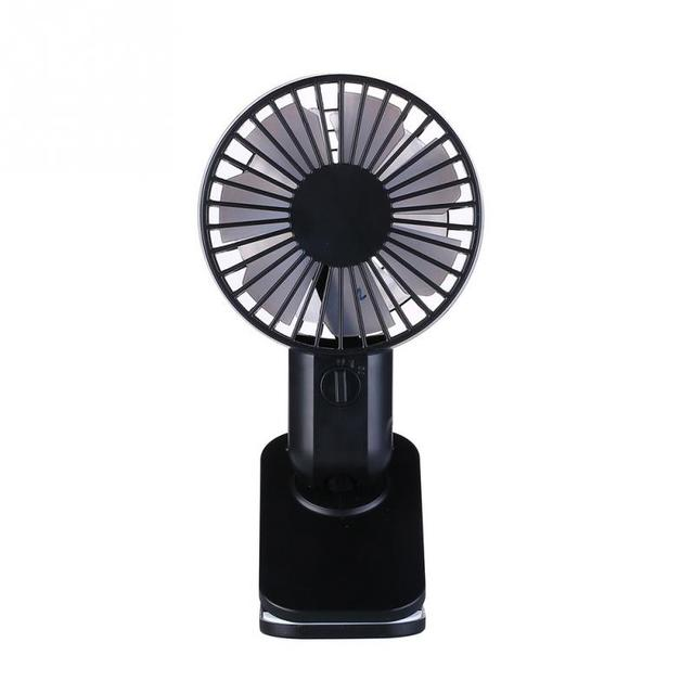 Usb Power Handheld Fan Cooler Flexible Hand Battery Operated Rechargeable Handheld Mini Fan Electric For Usb