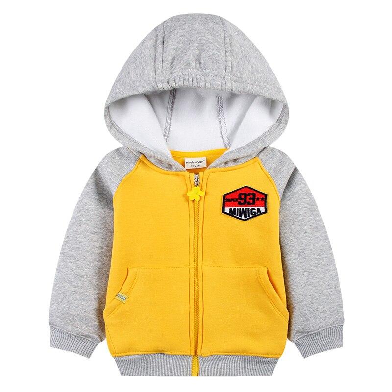 2018 High Quality Children Jacket Baby Boys Zipper Hoodies Toddlers Cotton Fleece Sweaters Kids Fashion Outerwear Sweatshirts