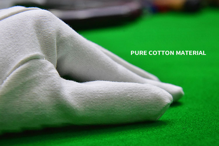 RILEY OFFICIAL REFEREES GLOVES MEDIUM WHITE COTTON SNOOKER POOL TABLE USE