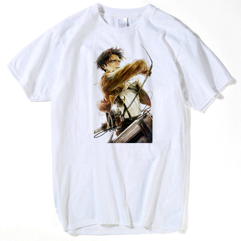 Attack on Titan Shirt Shingeki no Kyojin Legion Cosplay Wing T Shirt Eren Levi T-shirt Halloween Anime Costume Man Tees