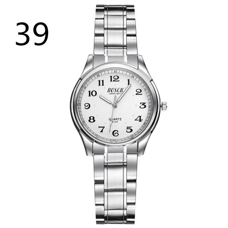 Hommes daffaires en acier inoxydable de montre simple montre, mode et loisirs avec quartz montre pour hommesHommes daffaires en acier inoxydable de montre simple montre, mode et loisirs avec quartz montre pour hommes