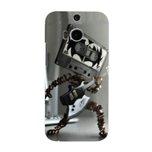 Pretty interesting electronic music rock robot Mobile phone cover Case For HTC M8