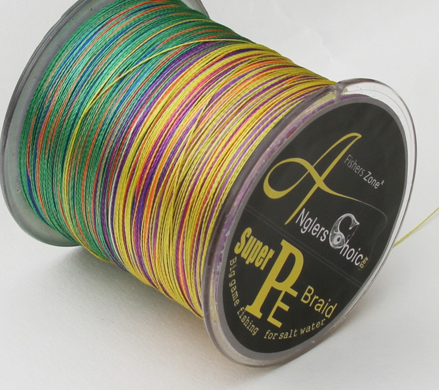 4 Strands PE Braided Fishing Line 500m Japan fishing line Multifilament Fishing line cheap fishing line multi color