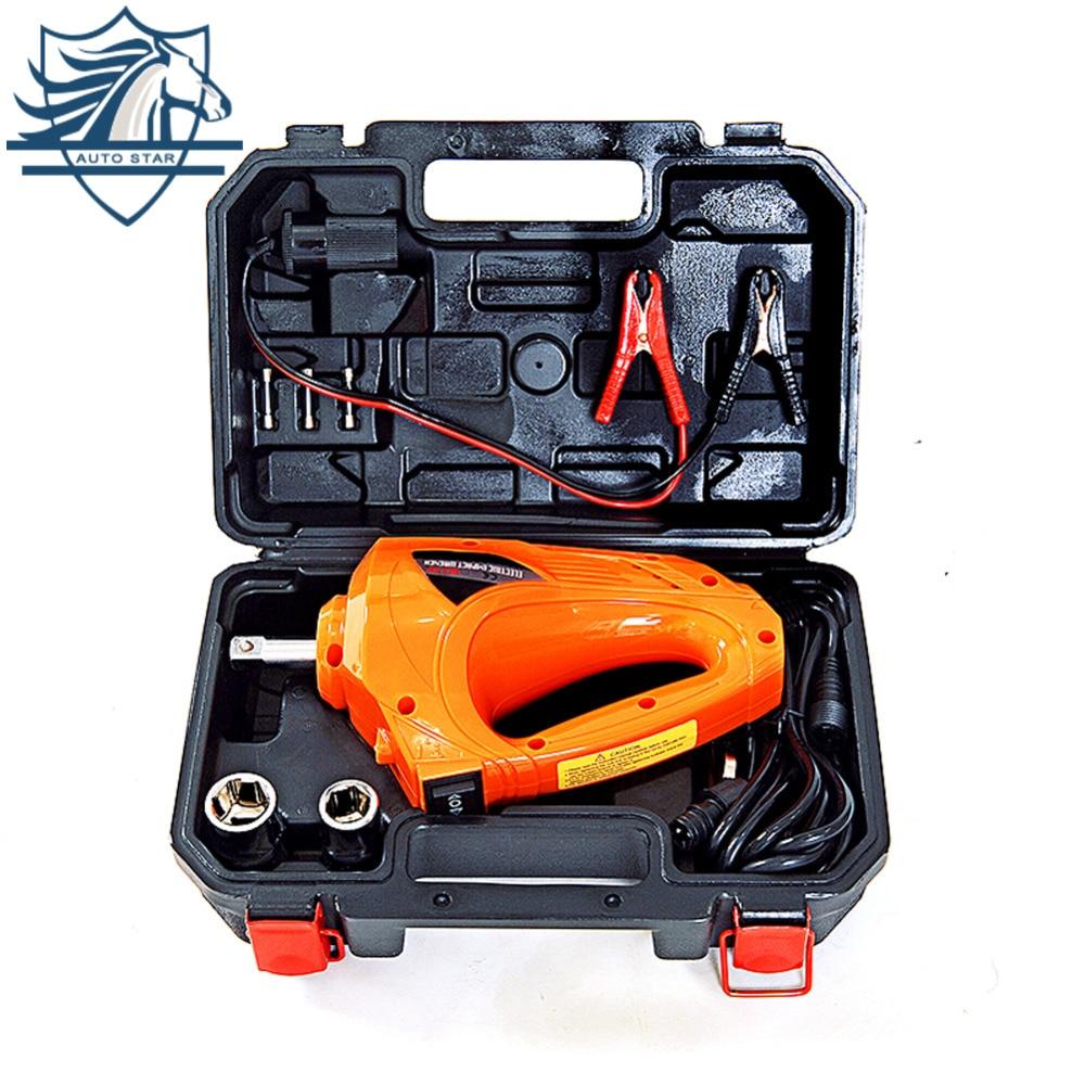 цена на Electric Impact Wrench 1/2 Inch, 480N.M 12 Volt Car Repair Tool Impact Driver ,Electric Impact Wrench Gun Kit