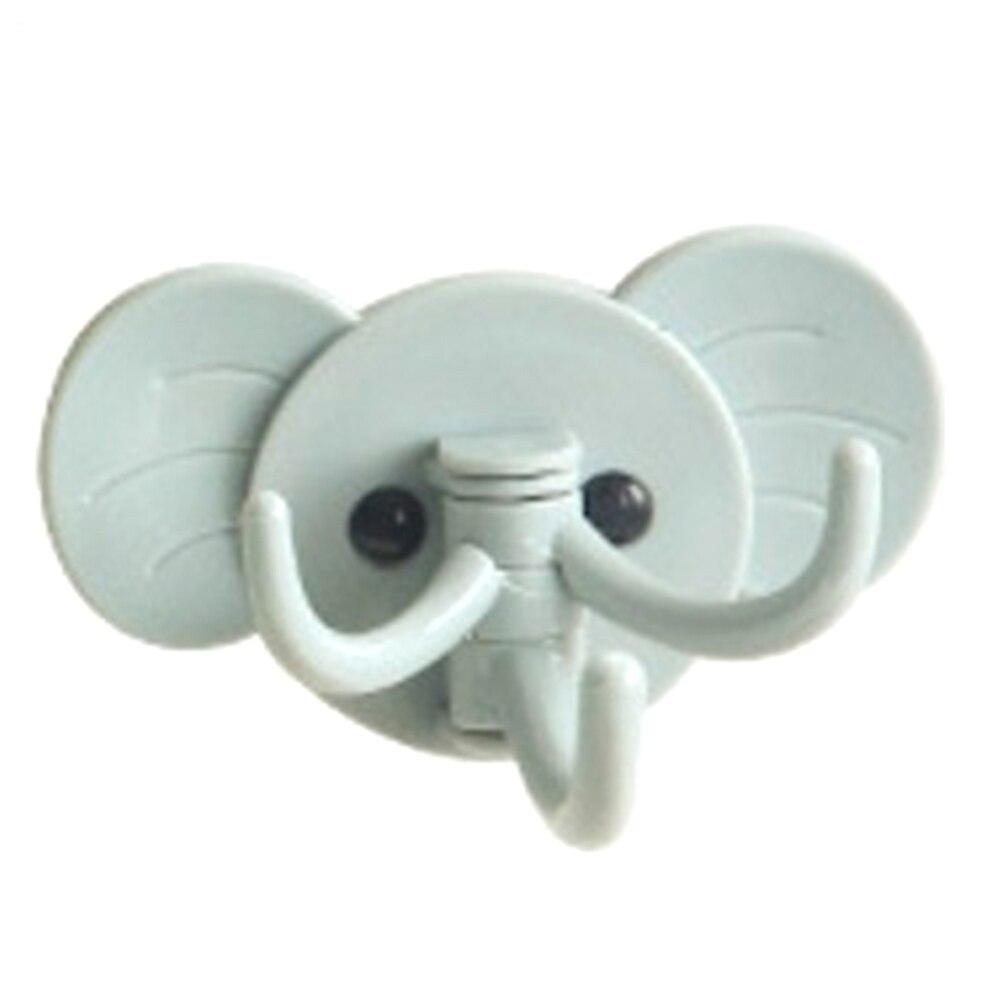 Kreative Elefanten Nahtlose Wandbehang Selbstklebende Kleben Küche Bad Haken Multifunktions Lagerregal
