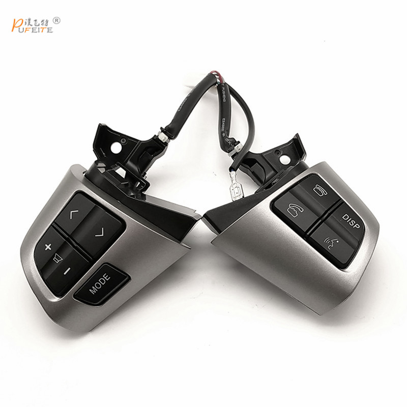 Steering Wheel Control Button Switch For TOYOTA COROLLA 2010-2013 Cruise Multifunction Button top quality steering wheel control button switch for toyota corolla ade150 nde150 nre150 zze150 2007 2013 84250 02230 8425002230
