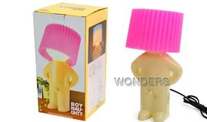 Image 4 - いたずら少年 Mr. p 少し内気男創造ランプ小さなナイトライト、ナイトライト家の装飾素敵なギフト