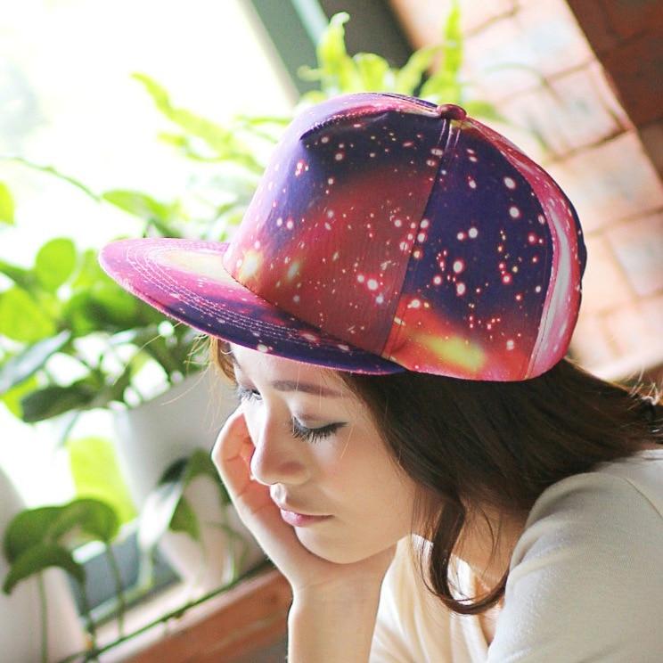 Prix pour Galaxy Cosmos Snapback baseball Floral Fleur Hawaiisnapback cap pour hommes pour les femmes hip hop chapeau
