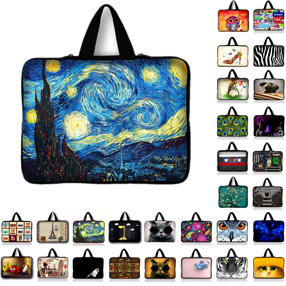 Computer Neoprene Laptop Bag Cases Notebook Sleeve Cover Pouch 7 10 11.6 13 13.3 14.4 15 15.4 17.3 inch Pro Tablet PC
