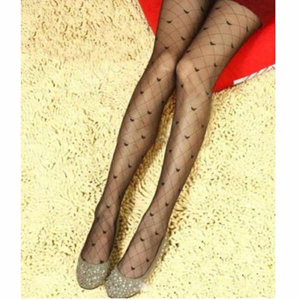 Seksi kadın çorap yaz ince şeffaf jakarlı külotlu çorap sevimli bayanlar Vintage sahte dövme yuvarlak nokta çorap külotlu