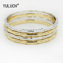 YULUCH New unique design bamboo 2 color fashion Bangles for