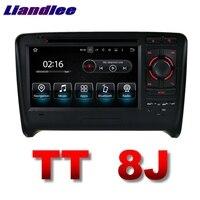 Liandlee Автомобильный Мультимедийный Плеер Navi для Audi TT 8j MK2 2006 ~ 2014 Сенсорный экран Системы Радио ТВ DVD стерео GPS навигации