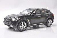1:18 литья под давлением модели для Infiniti QX70 2014 черный Внедорожник сплав игрушечный автомобиль миниатюрный коллекция подарок FX50 FX