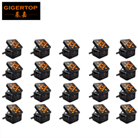 TIPTOP RGBWA LED Battery Powered Wireless DMX Uplighting /12*12W 25 Degree Silent Cooling Fans No Flicker Freeshipping 20XLOT