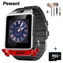 Фабрика Оптовая Продажа Оригинальных DZ09 Smart Watch С Камерой Bluetooth Наручные Часы Sim-карты Для Android Смартфон Smartwatch DZ 09