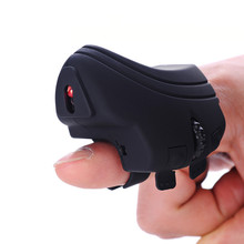 BINYEAE USB Finger Wireless font b Mouse b font Portable 2 4Ghz Wireless Optical Rechargeable Finger