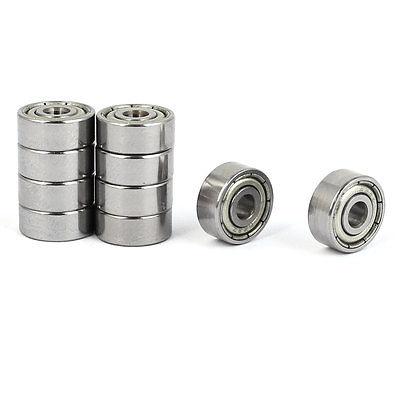 все цены на ZZ623 Deep Groove Ball Bearing 10mm OD 3mm Bore Dia 10pcs онлайн