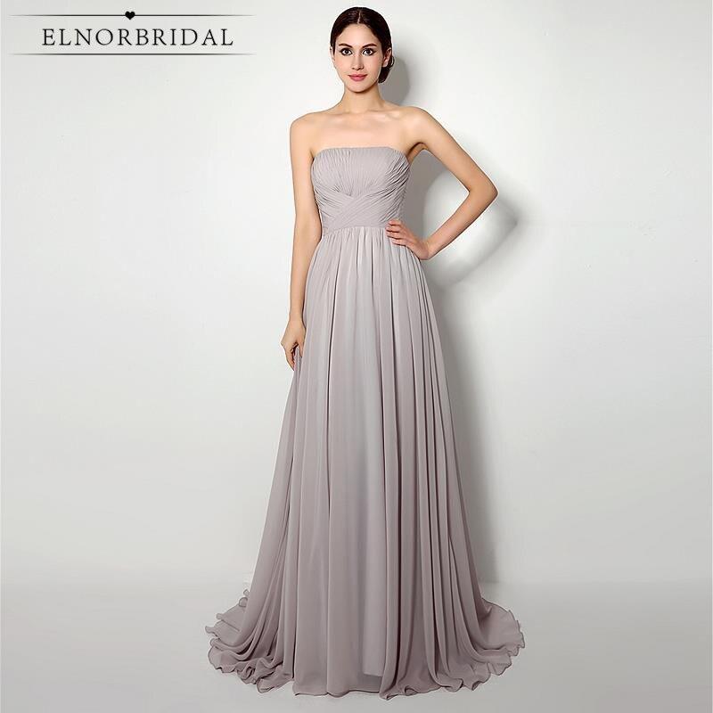 Großhandel grey maid of honor dresses for weddings Gallery - Billig ...