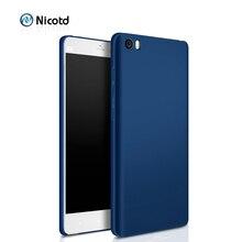 Nicotd Luxury hard Plastic Matte Case for Xiaomi
