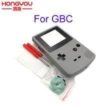 Für GBC Grau Shell Fall Ersatz Für Gameboy Farbe GBC spielkonsole volle gehäuse
