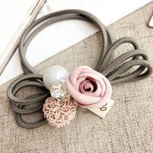 Flower Elastic Hair Bands