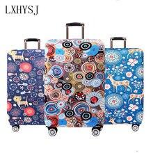 1723680117da LXHYSJ Эластичный Чемодан Крышка подходит для 18 до дюймов 32 дюймов тележка  случае чемодан пылезащитный чехол