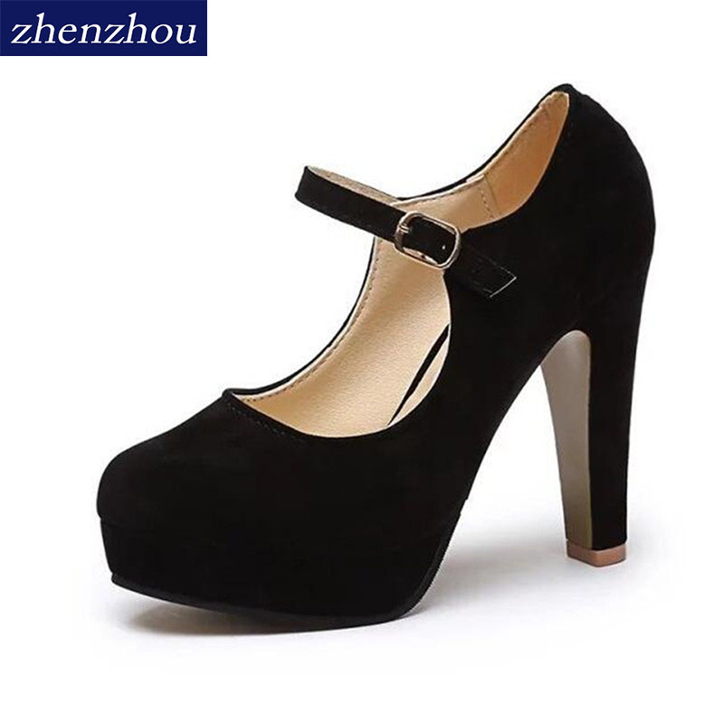 Free shipping Pumps Women 's shoes in 2017 summer the new sexy high heels rounded suede comfortable work shoes 12cm vacuum hood suction disc bell in vacuum laboratory jar sound physics for sound propagation experiment and low pressure