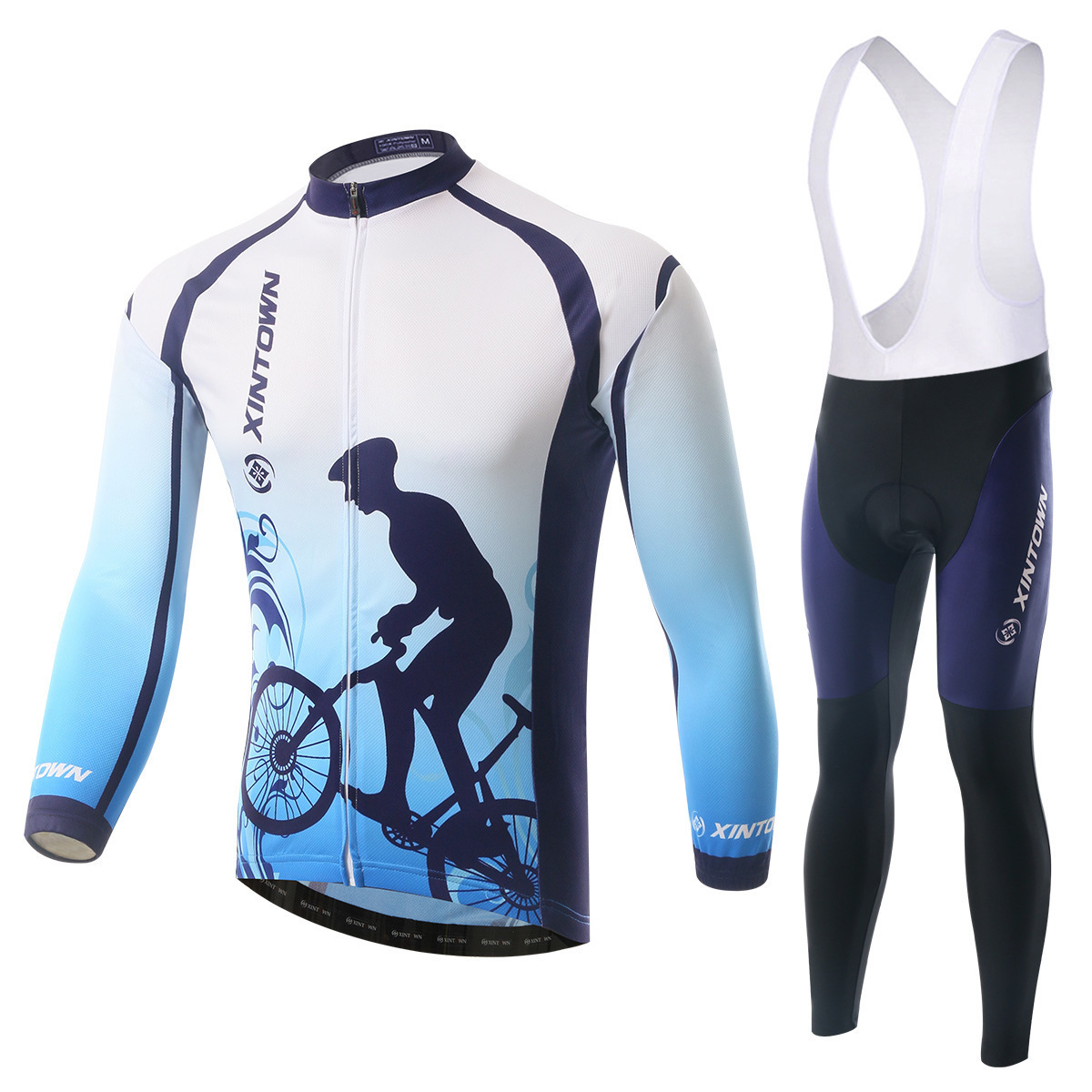 BOODUN Wang Yue Riding Clothes Straps Long Sleeve Suit Bicycle Serve Catch Down Windbreak Keep Warm Function Underwear