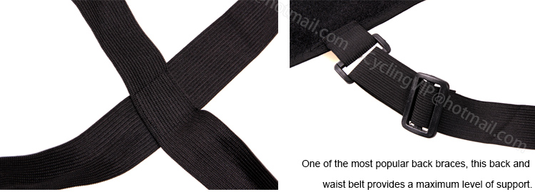 Breathable waist brace relief back pain adjustable elastic waist - Sportswear and Accessories - Photo 6