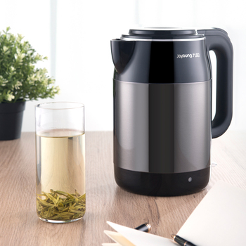 Joyoung Household Electric Kettle Food Grade Stainless Steel Electric Kettle 1.7L Insulation Auto-off Water Boiler Teapot