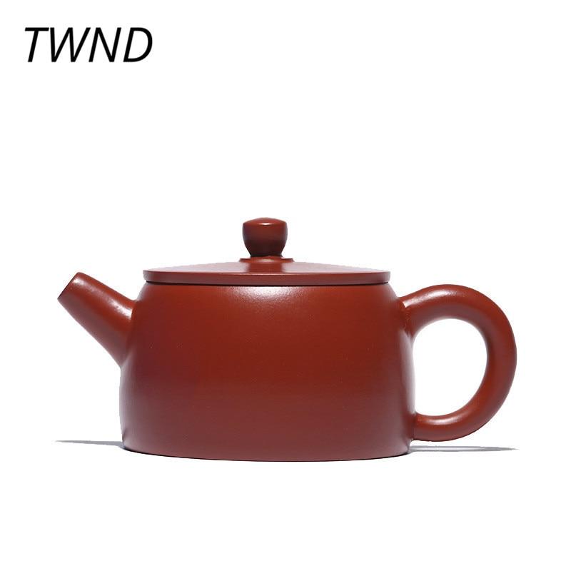 110CC Yixing teapot raw ore Dahongpao purple sand handmade kettle gift box