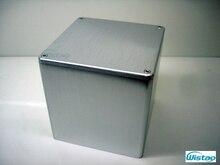 שנאי כיסוי 134X134X136 מוברש כל אלומיניום 1 pc כוח שנאי מכסה עבור מגבר מנורות HIFI אודיו DIY