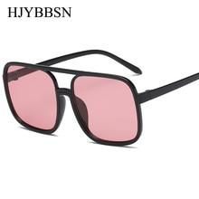 6727c48532 RUISIMO 2018 gafas de sol cuadradas de aviación de gran tamaño para mujer  con diamantes de