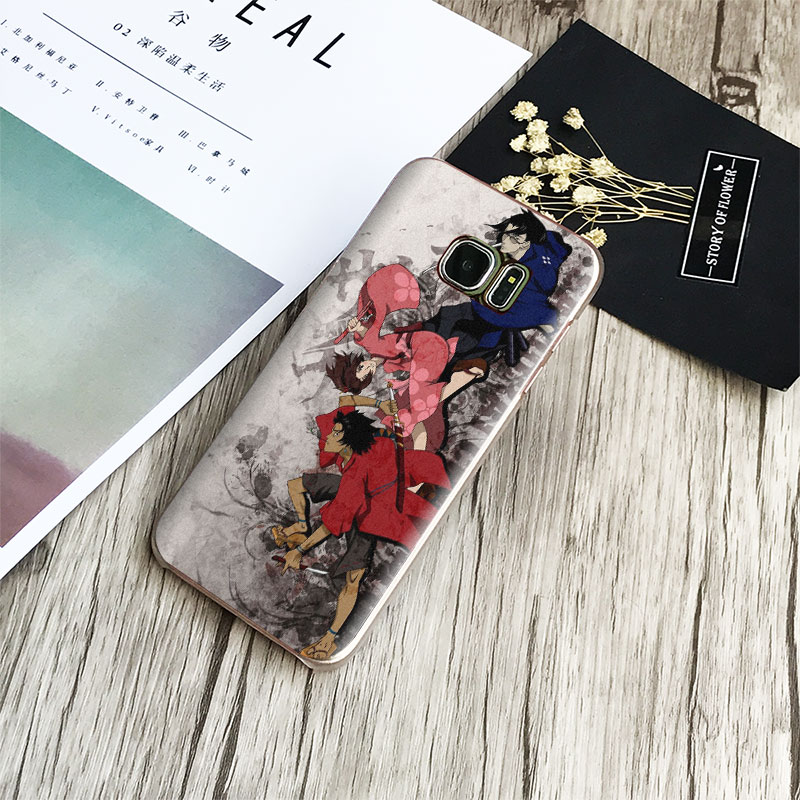 Samurai Champloo For Samsung Galaxy S4 S5 S6 S7 Edge S8 S9 Plus Note 8 2 3 4 5 A5 A7 J5 2016 J7 2017 Phone Case Shell Cover