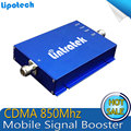 Comercio al por mayor Teléfono Celular Potenciadores de la Señal CDMA 850 17dBm Repetidor 850 MHZ Celular Repetidor GSM Repetidor 850 mhz Amplificador de Señal