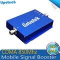 Impulsionadores Do Sinal de Telefone Celular por atacado CDMA 850 Repetidor 17dBm 850 MHZ Repetidor Celular Repetidor GSM 850 mhz Amplificador de Sinal