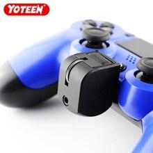 Yoteen 3.5ミリメートルPS4ゲームコントローラ用のヘッドセットアダプタマイクボリュームコントロールプレイステーション4