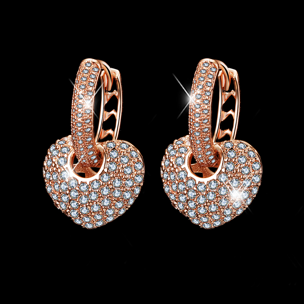 Aliexpress.com : Buy Sparkling Top Quality Fashion Earring New ...