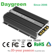 Waterproof 2019 Newest 48V TO 12V 150A 1800W DC Step Down Converter High Efficiency Regulator Reducer For Automotive