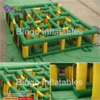 Große aufblasbare labyrinth 40ft x 40ft aufblasbare labyrinth sport spiele für kinder und erwachsene inflatabl Spielzeug Sport-in Spielzeug-Sportgeräte aus Spielzeug und Hobbys bei