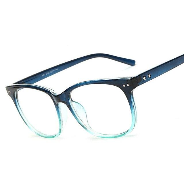 f29b267a76890 Armações de óculos óculos de lente Clara de Vidro Óptico Do Olho Do Vintage  para Mulheres