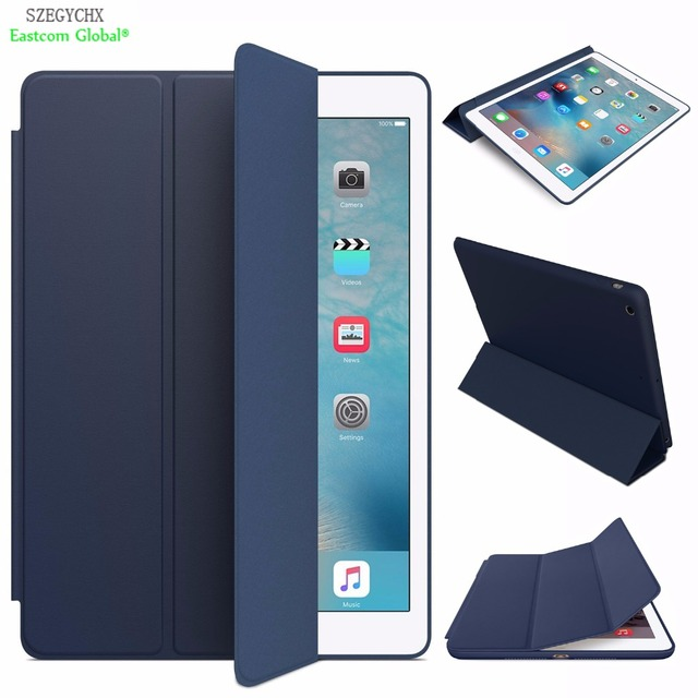Smart Case For iPad Mini 3 2 1 SZEGYCHX PU Leather Cover Auto Sleep protective shell for apple ipad mini1 mini2 mini3