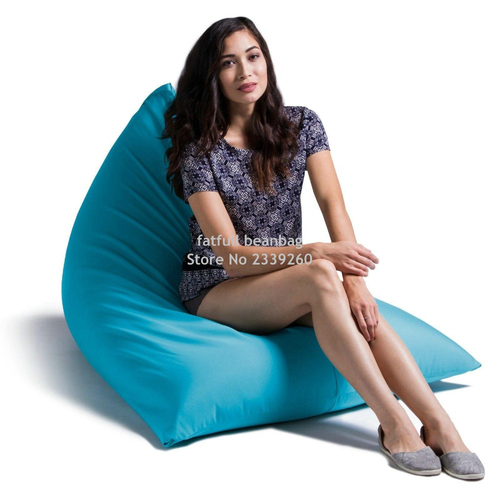 Astonishing Us 50 0 Cover Only No Filler Pivot Bean Bag Chair With Back Support Sexy Outdoor And Indoor Bean Bag Sofa In Living Room Sets From Furniture On Dailytribune Chair Design For Home Dailytribuneorg