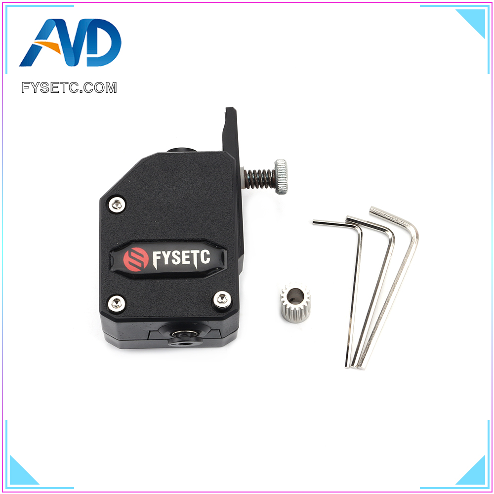 Upgrade Black BMG Extruder Cloned Btech Bowden Extruder Dual Drive Extruder For Wanhao D9 Creality CR10 Ender 3 Anet E10