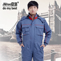 Warm Cotton Clothing Coveralls for Men and Women in Autumn and Winter, Work Clothes Jumpsuit AC-7333