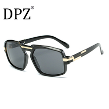 970ee3c2369e 2019 DPZ Fashion Square ditaeds Sunglasses Men Women Luxury Brand hip hop  hippie Sun Glasses UV400