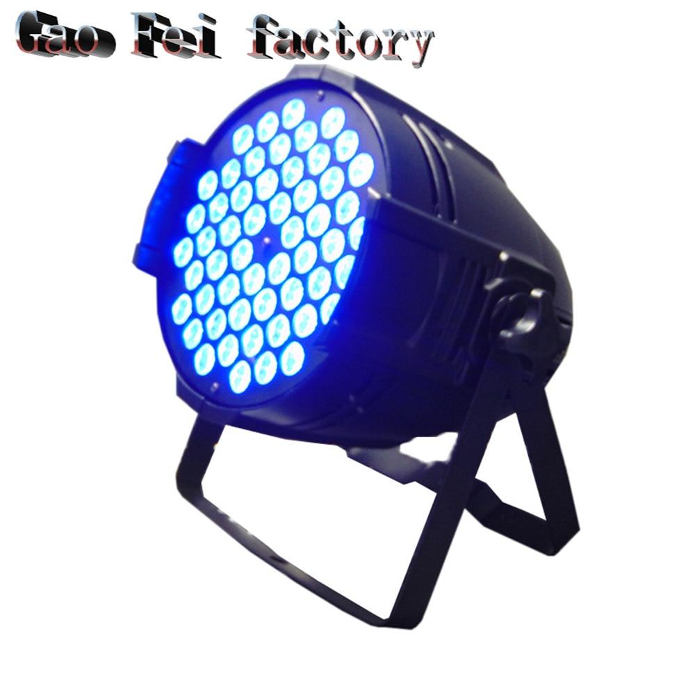4pcs/lot china outdoor aluminum waterproof 54*3W RGB led par light dj led light4pcs/lot china outdoor aluminum waterproof 54*3W RGB led par light dj led light