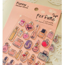South Korea Perfume Women Style 3D Sticker Cute Hand Diary DIY Decoration
